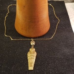 Jewelry - Ancient Egyptian Mummy charm necklace